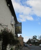 Barley Mow sign, Eaton Ford - 21st October 2014