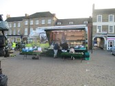 Market Day in St Neots Market Square - 20th November 2014
