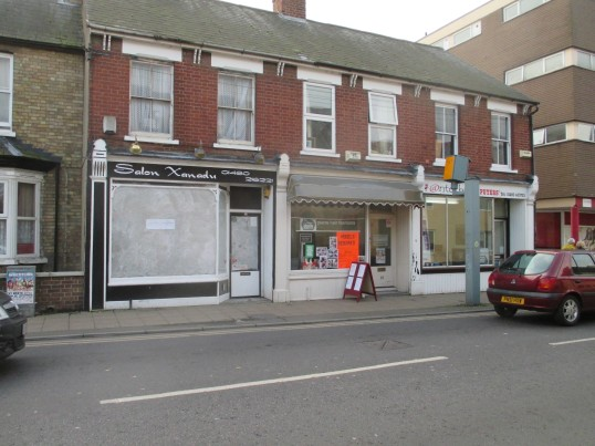 Salon Xanadu in Cambridge Street - closed in November 2014