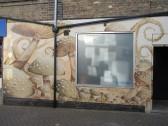 Barrett's 'Alice in Wonderland' mural close ups - painted 1st November 2014