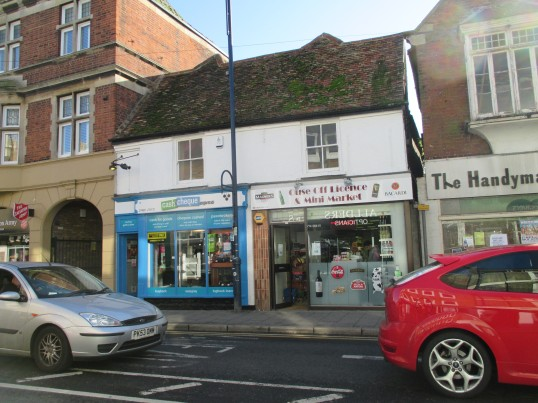 Ouse Off Licence now opened in St Neots High Street - 1st November 2014