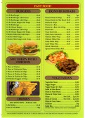 Hot and Tasty Takeaway Menu - 2 Longsands Parade - date unknown