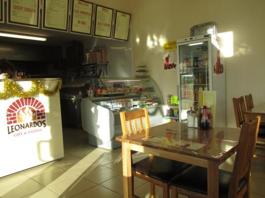 Leonardo's Cafe, Loves Farm - inside the cafe - 19th December 2014