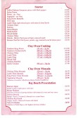 Raj Douth Indian Restaurant Menu 2005, St Neots High Street
