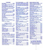 The Curry Spice Indian Restaurant and Takeaway menu, 1 Longsands Parade - date possibly 2011