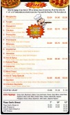 Hot and Tasty Takeaway Menu, 2 Longsands Parade, St Neots - date unknown