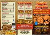 Chicken Kingdom Takeaway menu, 2 Longsands Parade - date unknown