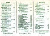 Istanbul Kebab House Takeaway Menu, 50 High Street - August 1995