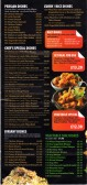 Spice Village Takeaway Menu, 154 St Neots Road, Eaton Ford - date possibly 2013