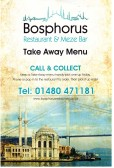 Bosphorus Takeaway Menu, Market Square - 2014
