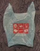Argos Plastic bag - 24th January 2015
