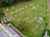 Buckden churchyard, memorials, Dukes of Suffolk (1551), Whitworth, removals, September 2012