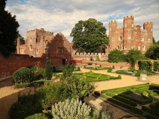Buckden Towers Palace, Knot Garden, September 2012