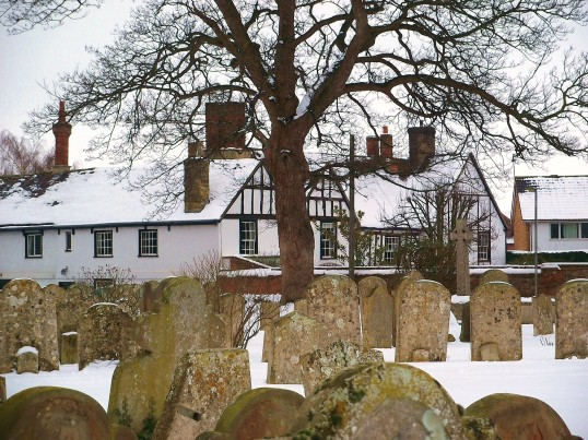 Buckden manor house, Church Street, February 2012