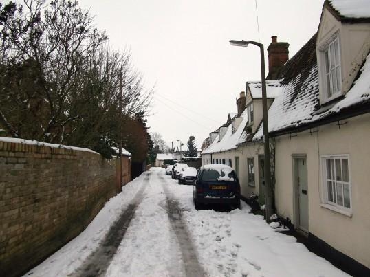 Buckden, Lucks Lane, February 2012 (1)