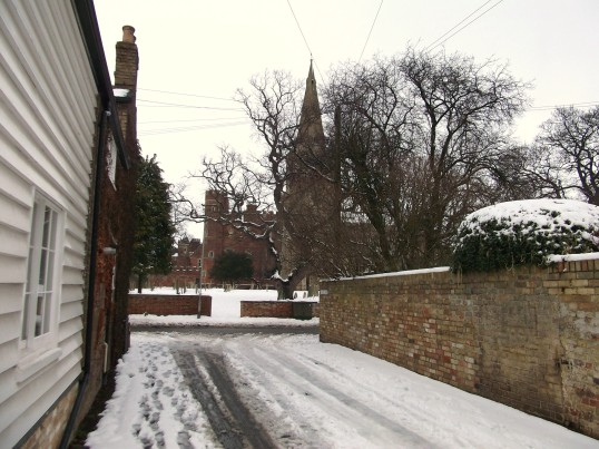 Buckden, Lucks Lane, February 2012 (2).