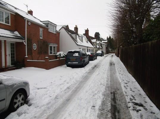 Buckden, Lucks Lane, February 2012 (3).