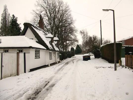 Buckden, Lucks Lane, old cottage February 2012 (2).