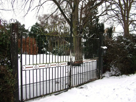 Buckden, Lucks Lane, February 2012 (5).