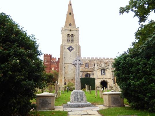Buckden War Memorial after cleaning (2)