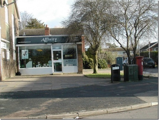 Affinity Hairdressers in Little Paxton, 13 Park Way - January 2015