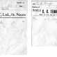 CG Tebbutt invoices 1943/4
