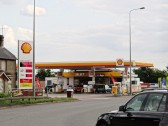 Buckden - A1 roundabout, Shell garage June 2013