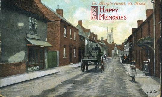 St. Mary's Street, Eynesbury, 1906