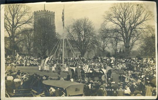 Eaton Socon May Day 1914