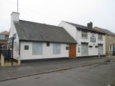 Bulls Head Pub in Cambridge Street - close for refurbishment - 17th March 2015