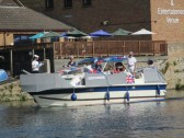St Neots Armed Forces Day Boat Procession 2015