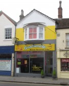 Guacamole Mexican Restaurant in St Neots High Street getting a new frontage - August 2015