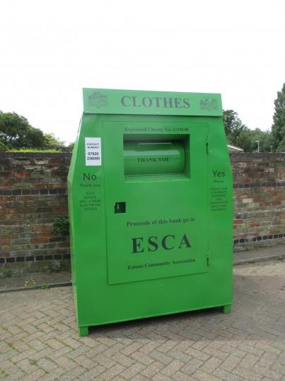 Textile Bank at Tesco Express, Eaton Socon