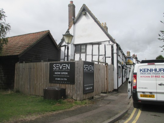 Seven at The Millers Arms in Ackerman Street, Eaton Socon - 6th August 2015