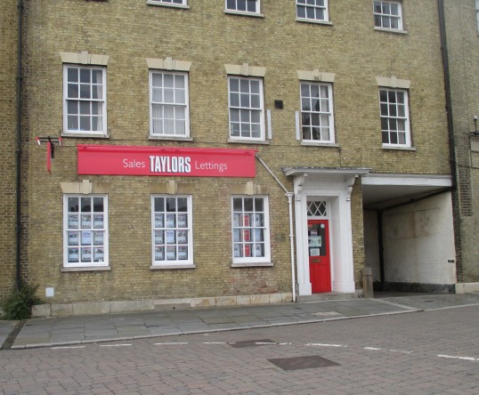 Taylors Estate Agents in St Neots Market Square - 11th August 2015