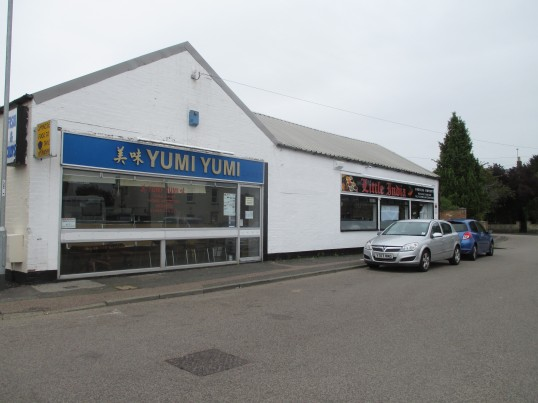 Yumi Yumi Fish and Chips Takeaway and the new Little India Restaurant in the former Yumi Yumi Restaurant in Eynesbury - 25th August 2015