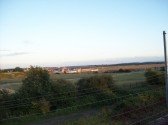 A view across the Loves Farm building site on 10th August 2008