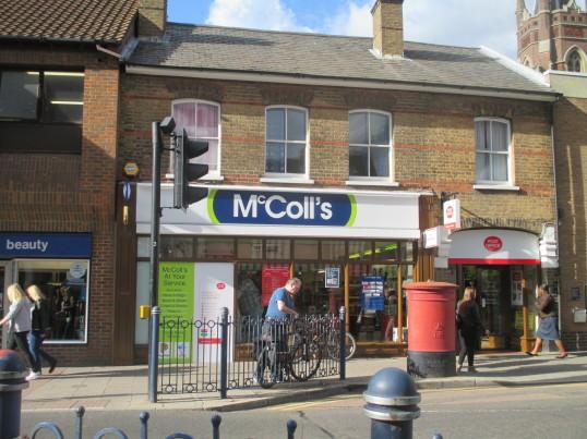 McColls in St Neots High Street - 14th September 2015