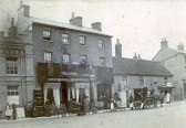 Franks Furniture Shop in 1900 in St Neots High Street