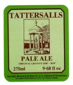 James Paine Brewery Tattersalls Pale Ale label - date unknown