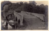 A view along 5 Arches bridge across the River Great Ouse - date unknown