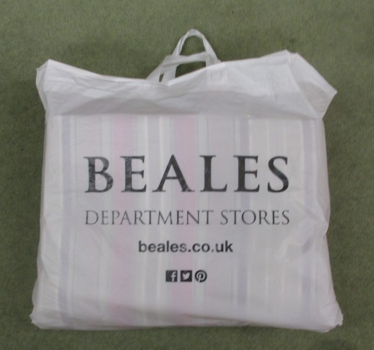 Beales plastic bag - Jan 18th 2016