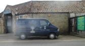 DP Engraving van behind Cross Keys Mews - 20th March 2016