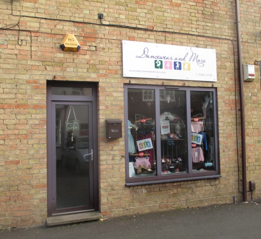 'Dancewear and More' shop in Fishers Yard, off The Market Square - 19th Jan 2016