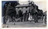 Eaton Socon Academy - seen across the churchyard at Eaton Socon - date pre 1900