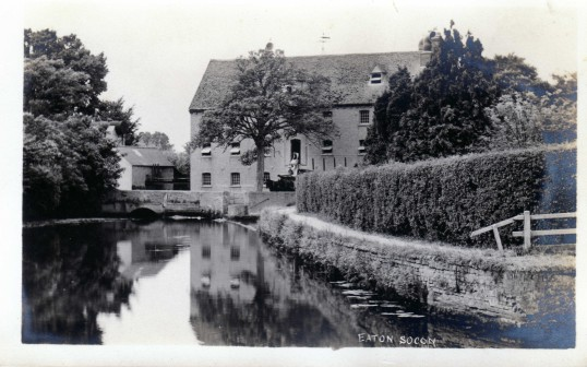 Rivermill at Eaton Socon - date unknown