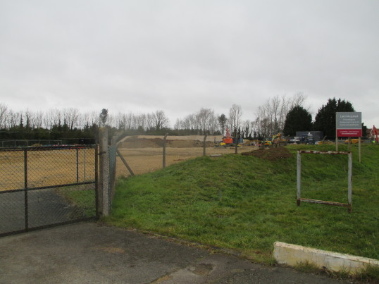 New housing site near the Eaton Oak - 18th March 2016