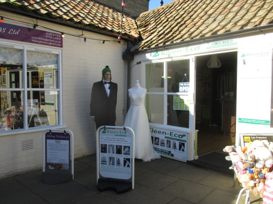Kleen Eco shop in Cross Keys Mews- 16th Feb 2016