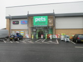 Pets at Home have opened while B&M are working hard to stock their shop in Eaton Socon - 18th March 2016