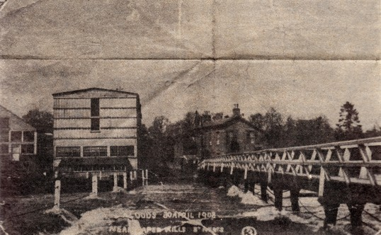 paper mill floods 1908